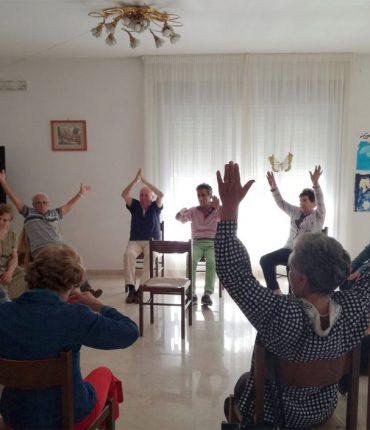 attività motoria Caffè della memoria Fondazione Antonio Della Monica Cava de' Tirreni