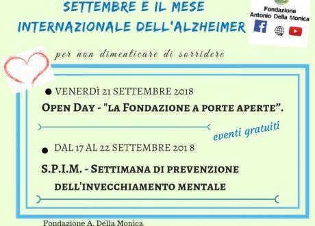 settembre mese alzheimer prevenzione Fondazione Antonio Della Monica
