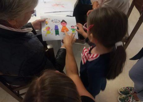 anziani bambini fondazione della monica festa dei nonni
