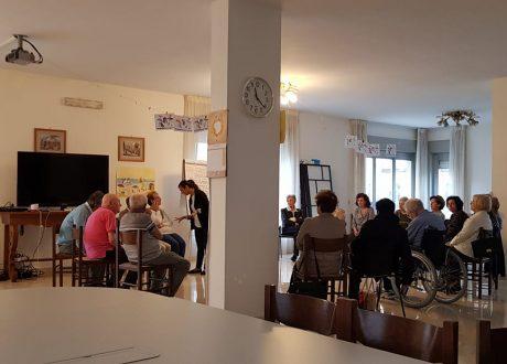 Alhzeimer caffè memoria partecipanti in Fondazioen Antonio Della Monica