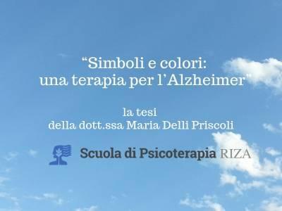 """""""Simboli e colori: una terapia per l'Alzheimer"""": la tesi di specializzazione della dott.ssa Maria Delli Priscoli"""