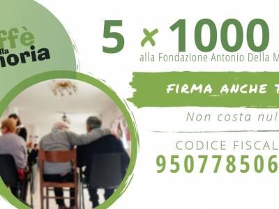 """Il 5xMille per il progetto """"Caffè della Memoria"""""""